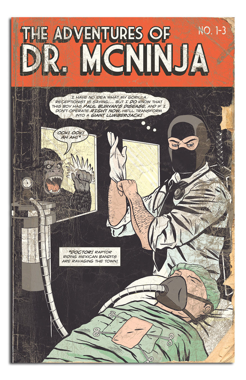 The Adventures of Dr  McNinja